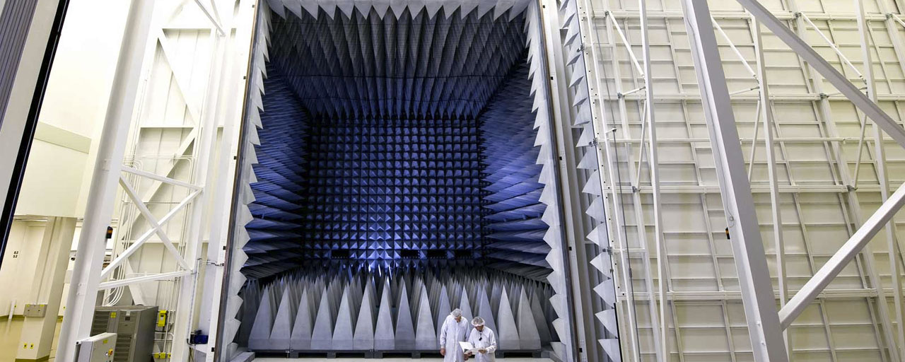 ETS-Lindgren RF Shielded Anechoic Chamber