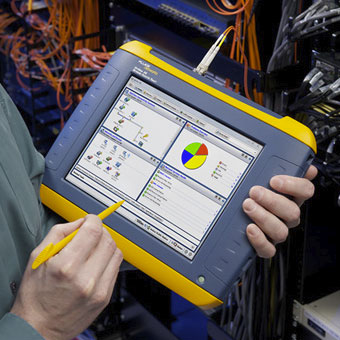 Fluke Networks OptiView XG Network Analysis Tablet
